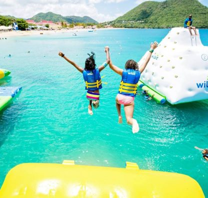 Water Worlds - the most fun on-site water parks at US resorts