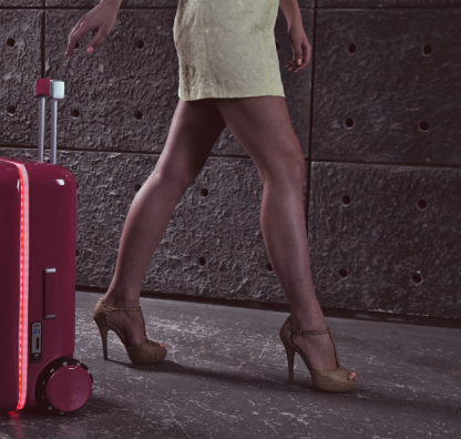 Is This The Future of Travel? A Robot Suitcase That Powers Itself...