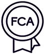 We're FCA regulated. You have peace of mind that you're in safe hands