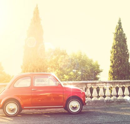 Can a non-Italian citizen legally purchase or own a car in Italy?